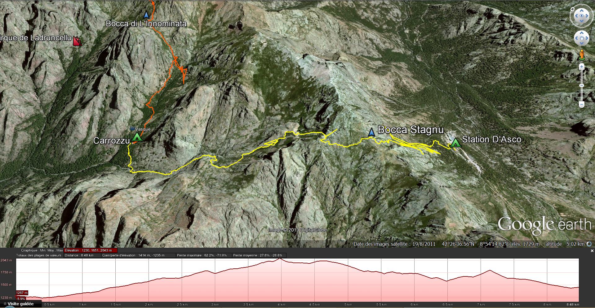 3e étape - Carrozzu - Asco