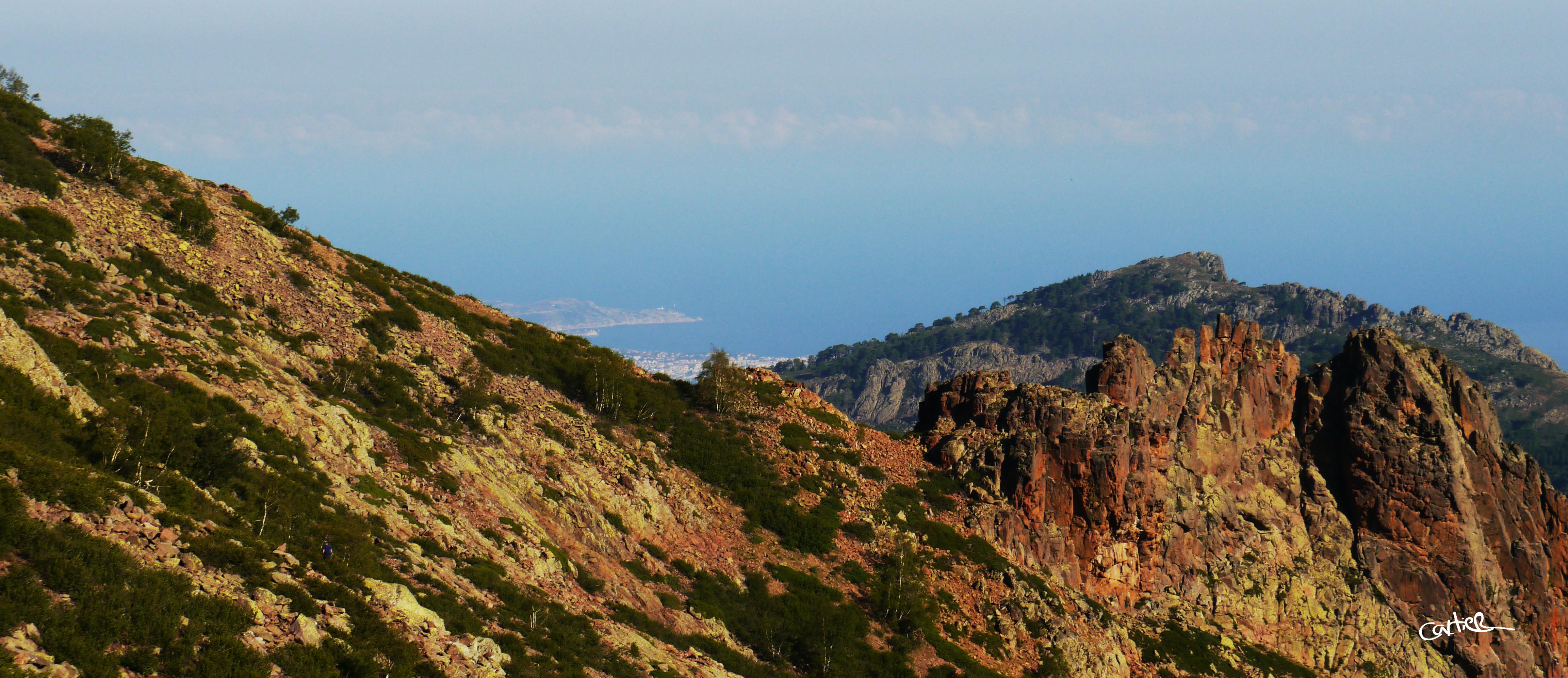 Toujours une vue superbe sur la côte Ouest