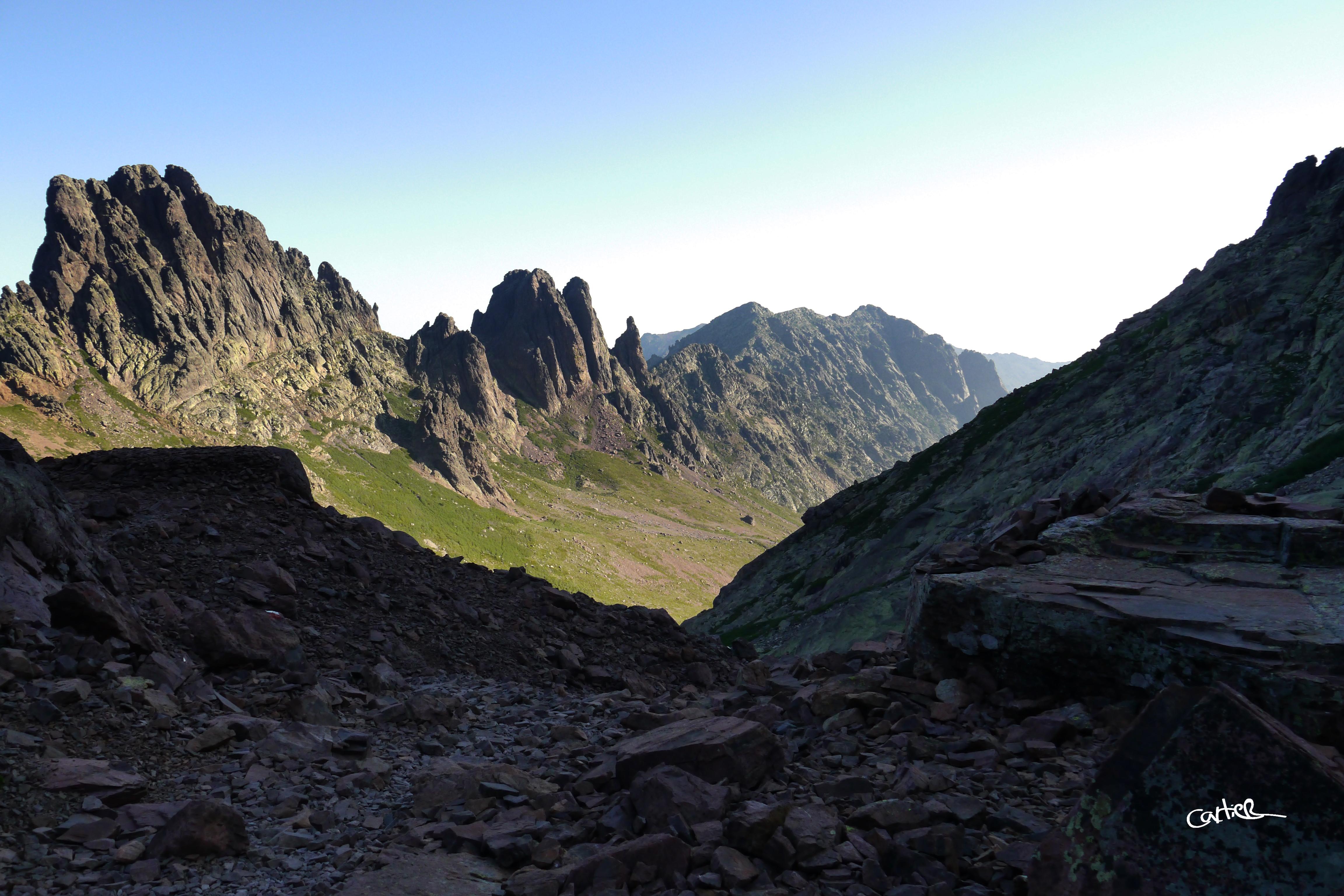 Derrière la Vallée d'Asco