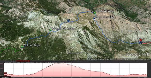 5e étape: Bergeries de Vallones - Col de Vergiu
